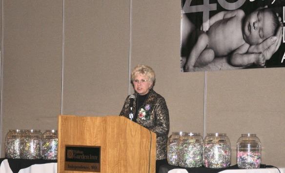 Pam Fichter, President of Missouri Right to Life, endorses Missouri's Abortion Memorial